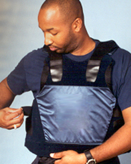 a photo of body armor