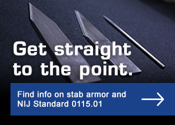 Get straight to the point. Find info on stab armor and NIJ Standard 0115.01